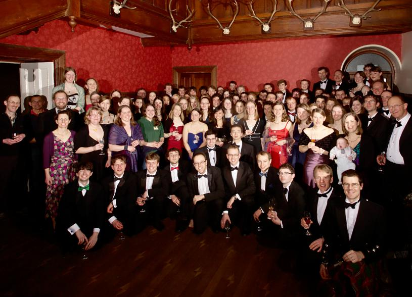 25th Anniversary Dinner group, Photograph by Toby Speight
